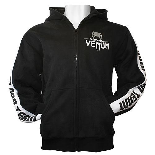 VENUM ジップパーカー Pro Team 黒