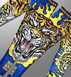 Fire Tiger Grappling Spats2