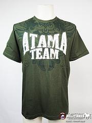 ATAMA Tシャツ ATAMA TEAM FLORAL