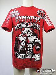 DEATH CLUTCH Tシャツ Walkout UFC116 sponsors