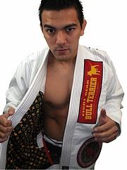 Bull Terrier Jiu-jitsu Gi Super Star White