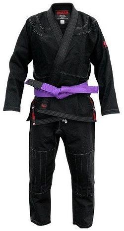 Adult BJJ Kimono - Black 1