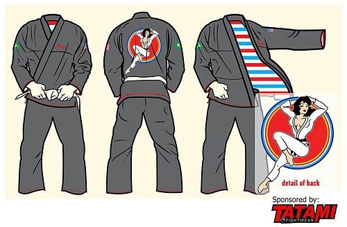 Tatamiオリジナルピンナップ柔術衣