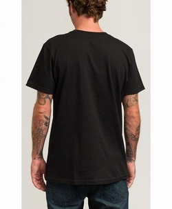 FLIPPED RVCA T-SHIRT blk 4