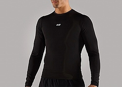 Pro Fit Long Sleevele Mens Bk Front
