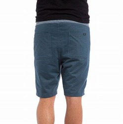 Mystic Elastic Shorts denim blue 2a