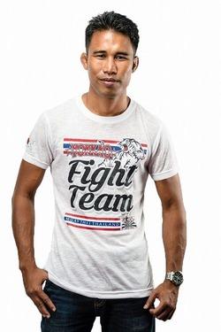 Yokkao T-Shirt Fight Team 20 White 1
