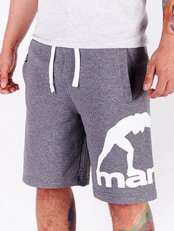 MANTO cotton shorts COMBO melange 1