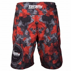 Renegade Red Camo Shorts3