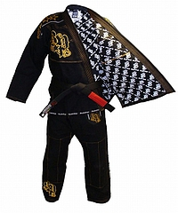 JiuJitsu GI Light Weight Deluxe Black4