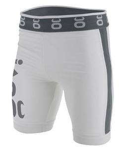 jaco Vale Tudo Fight Shorts - Long (WhiteSilverlake)1