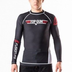 Top Gun Classic Rash Guard black 1
