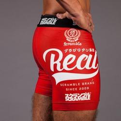 Real Vale Tudo Shorts  Red 1