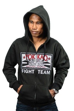 YOKKAO Fight Team Hoodie with zipper 3
