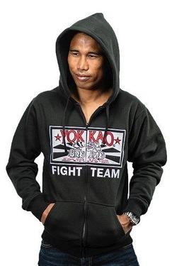 YOKKAO Fight Team Hoodie with zipper 3