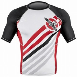 Elevate Rashguard Shortsleeve White 2a