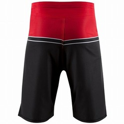 Hayabusa Sport Training Shorts Black-red 2a