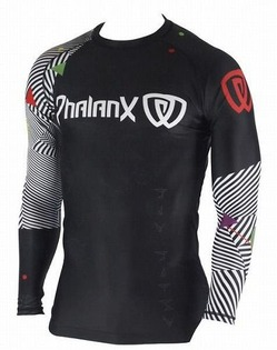 Rash Guard Phalanx Chaos black 1
