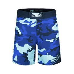 Soldier Training Fight Shorts blue 1