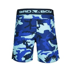 Soldier Training Fight Shorts blue 3