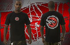 NAJA Tシャツ Head Sport 黒