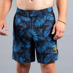 Indigo Camo Shorts 1