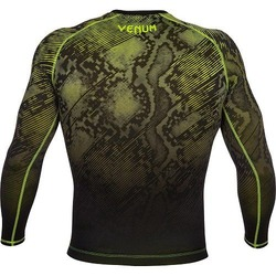 Fusion Compression T-shirt - Long Sleeves black-yellow 3