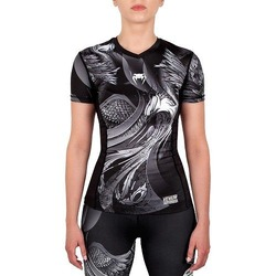 Phoenix Rashguard Short Sleeves BlackWhite 1