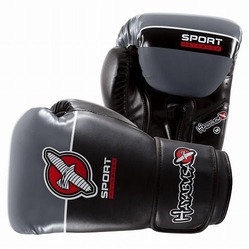 Hayabusa Sport 12oz Training Gloves black-grey 1a