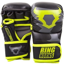 Charger Sparring Gloves blackneoyellow 1