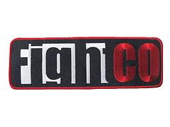 Fight Co 刺繍パッチ