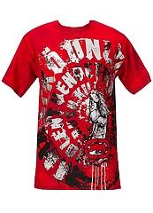 ECKO UNLTD Tシャツ CIRCLE OF VIOLENCE 赤 フロント