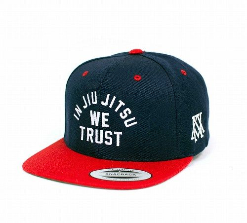 In Jiu Jitsu We Trust Hat Red White and Blue 1