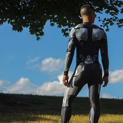 Cyborg Ninja Rash Guard 3