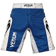 VENUM ファイトショーツ Elite UFC Edition 青/白
