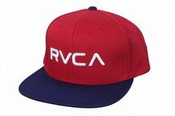 RVCA_Twil_ Snapback_Hat_Red_NavyBlue1