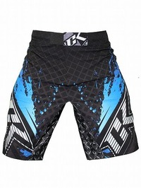 Shorts Stained S2 BK Blue3