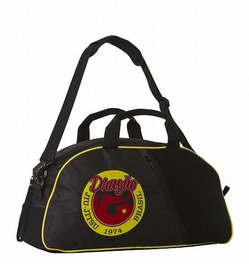 Gym Bag Bk Yellow