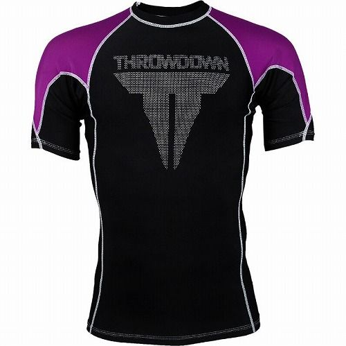 Shortsleeve Rashguard Purple1