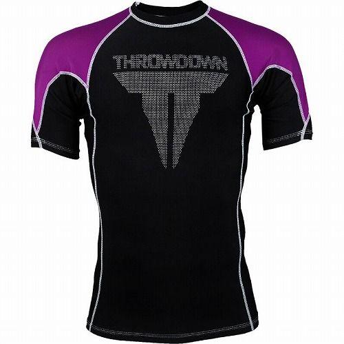 Shortsleeve Rashguard Purple1
