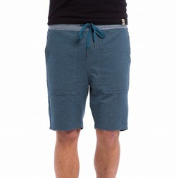 Mystic Elastic Shorts denim blue 1a
