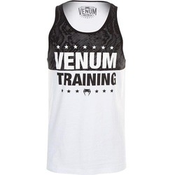 Training Tank Top white black1