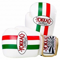 Italian Flag Boxing Gloves1