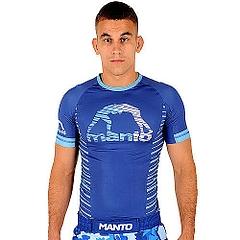 MANTO shortsleeve rashguard BEAST blue1
