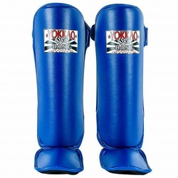 Blue BASIC Shin Guards 1