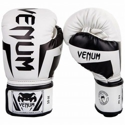 Elite Boxing Gloves whiteblack1