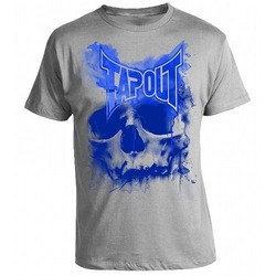SKULL DRIP  T-SHIRT heather