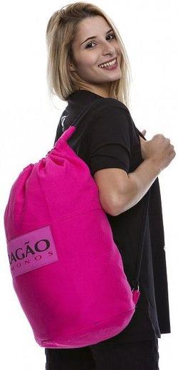 Sacola Tubo pink1