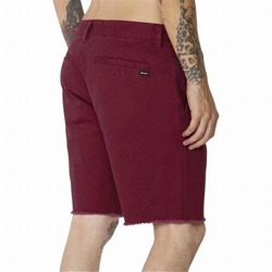 RVCA All Time Cutoff Chino Walkshort Crimson 2