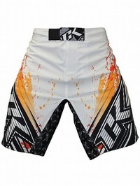 Shorts Stained S2 Wt Orange3